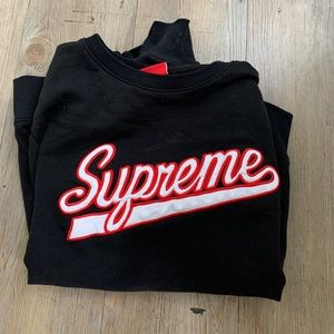 supreme sweatshirt